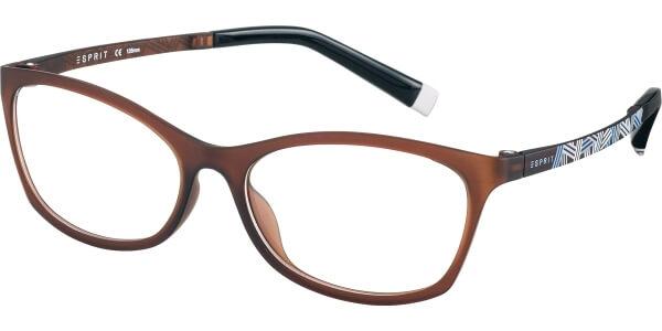 Dioptrické brýle Esprit model 17479, barva obruby hnědá mat, stranice hnědá modrá mat, kód barevné varianty 535.