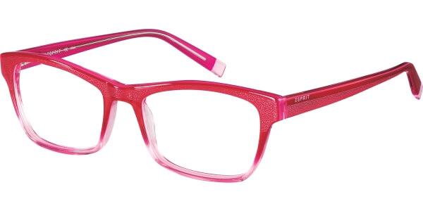 Dioptrické brýle Esprit model 17483, barva obruby růžová lesk, stranice růžová lesk, kód barevné varianty 534.