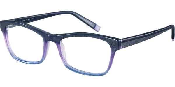 Dioptrické brýle Esprit model 17483, barva obruby fialová lesk, stranice fialová lesk, kód barevné varianty 577.