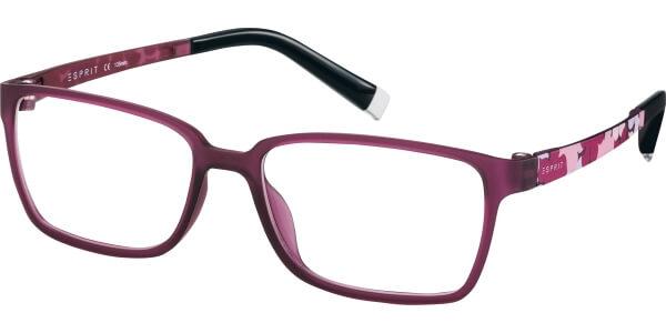 Dioptrické brýle Esprit model 17486, barva obruby fialová mat, stranice fialová mat, kód barevné varianty 577.