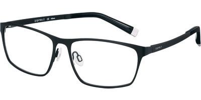 Dioptrické brýle Esprit model 17490, barva obruby černá mat, stranice černá mat, kód barevné varianty 538.