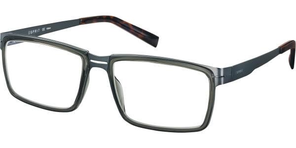 Dioptrické brýle Esprit model 17491, barva obruby šedá mat, stranice šedá mat, kód barevné varianty 505.