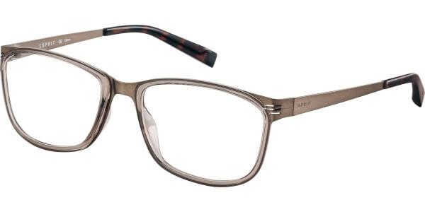 Dioptrické brýle Esprit model 17493, barva obruby hnědá lesk, stranice hnědá mat, kód barevné varianty 535.