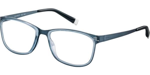 Dioptrické brýle Esprit model 17493, barva obruby modrá lesk, stranice modrá mat, kód barevné varianty 543.