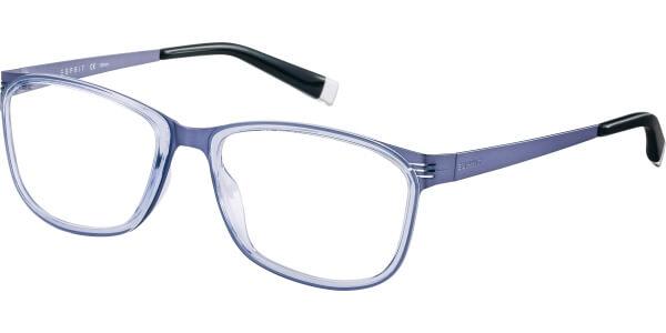 Dioptrické brýle Esprit model 17493, barva obruby fialová lesk, stranice fialová mat, kód barevné varianty 577.