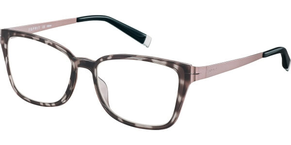 Dioptrické brýle Esprit model 17494, barva obruby černá lesk, stranice růžová mat, kód barevné varianty 538.