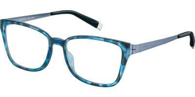 Dioptrické brýle Esprit model 17494, barva obruby modrá lesk, stranice modrá mat, kód barevné varianty 543.