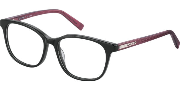 Dioptrické brýle Esprit model 17500, barva obruby černá lesk, stranice růžová lesk, kód barevné varianty 538.