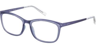Dioptrické brýle Esprit model 17502, barva obruby fialová mat, stranice fialová mat, kód barevné varianty 533.