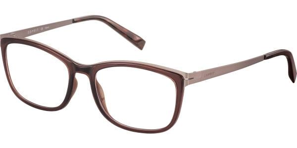 Dioptrické brýle Esprit model 17502, barva obruby hnědá lesk, stranice hnědá mat, kód barevné varianty 535.