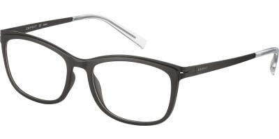 Dioptrické brýle Esprit model 17502, barva obruby černá mat, stranice černá mat, kód barevné varianty 538.