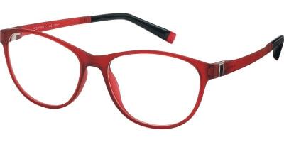 Dioptrické brýle Esprit model 17503, barva obruby červená mat, stranice červená černá mat, kód barevné varianty 531.