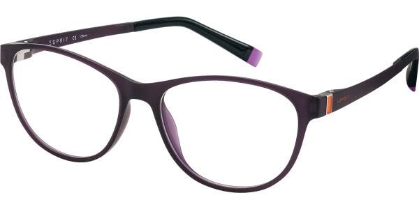 Dioptrické brýle Esprit model 17503, barva obruby hnědá mat, stranice hnědá oranžová mat, kód barevné varianty 577.