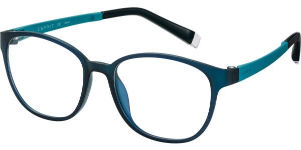 Dioptrické brýle Esprit model 17504, barva obruby tyrkysová mat, stranice tyrkysová mat, kód barevné varianty 547.