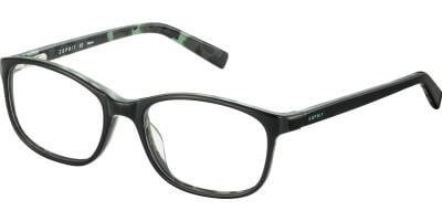 Dioptrické brýle Esprit model 17505, barva obruby černá lesk, stranice černá lesk, kód barevné varianty 538.