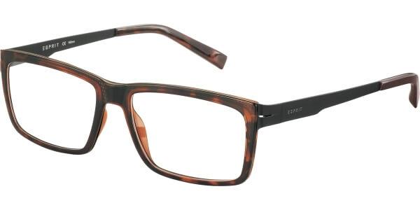 Dioptrické brýle Esprit model 17507, barva obruby hnědá lesk, stranice hnědá mat, kód barevné varianty 545.