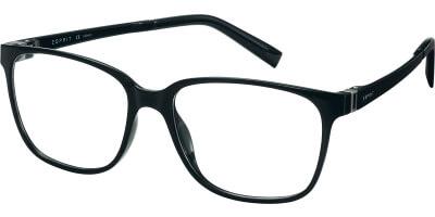 Dioptrické brýle Esprit model 17508, barva obruby černá lesk, stranice černá lesk, kód barevné varianty 538.