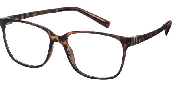 Dioptrické brýle Esprit model 17508, barva obruby hnědá mat, stranice hnědá mat, kód barevné varianty 545.