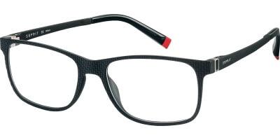 Dioptrické brýle Esprit model 17513, barva obruby černá mat, stranice černá mat, kód barevné varianty 538.
