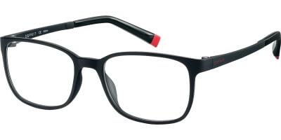 Dioptrické brýle Esprit model 17514, barva obruby černá mat, stranice černá mat, kód barevné varianty 538.