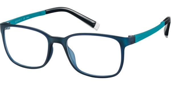 Dioptrické brýle Esprit model 17514, barva obruby modrá mat, stranice tyrkysová mat, kód barevné varianty 547.