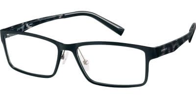 Dioptrické brýle Esprit model 17517, barva obruby černá mat, stranice černá lesk, kód barevné varianty 538.