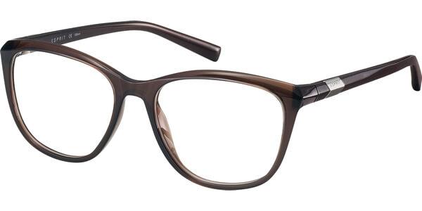 Dioptrické brýle Esprit model 17519, barva obruby hnědá lesk, stranice hnědá lesk, kód barevné varianty 535.
