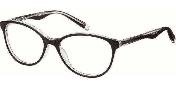 Dioptrické brýle Esprit model 17520, barva obruby černá lesk, stranice černá čirá lesk, kód barevné varianty 538.