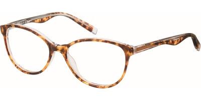 Dioptrické brýle Esprit model 17520, barva obruby hnědá čirá lesk, stranice hnědá lesk, kód barevné varianty 545.