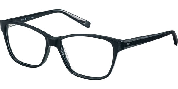 Dioptrické brýle Esprit model 17522, barva obruby černá šedá mat, stranice černá šedá mat, kód barevné varianty 538.