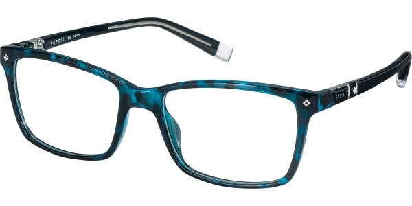 Dioptrické brýle Esprit model 17523, barva obruby tyrkysová lesk, stranice tyrkysová lesk, kód barevné varianty 508.
