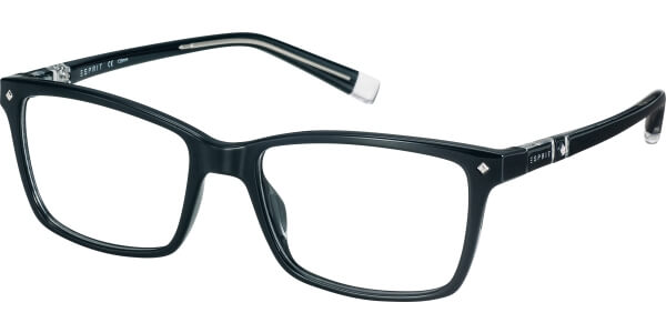 Dioptrické brýle Esprit model 17523, barva obruby černá lesk, stranice černá lesk, kód barevné varianty 538.