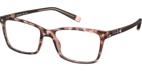 Dioptrické brýle Esprit model 17523, barva obruby hnědá lesk, stranice hnědá lesk, kód barevné varianty 545.