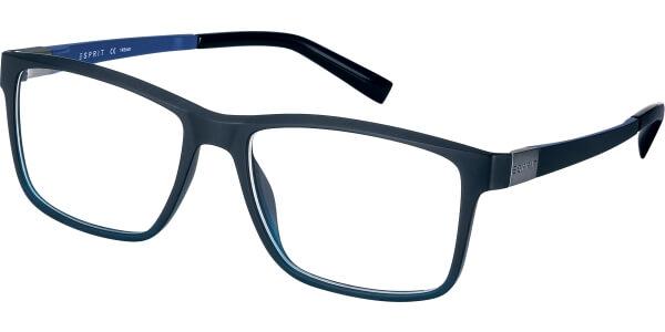 Dioptrické brýle Esprit model 17524, barva obruby modrá mat, stranice černá mat, kód barevné varianty 526.