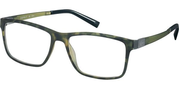 Dioptrické brýle Esprit model 17524, barva obruby zelená mat, stranice zelená mat, kód barevné varianty 527.