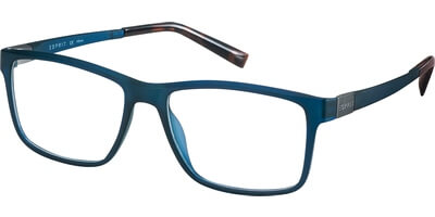 Dioptrické brýle Esprit model 17524, barva obruby modrá mat, stranice modrá mat, kód barevné varianty 543.