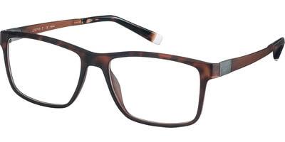 Dioptrické brýle Esprit model 17524, barva obruby hnědá mat, stranice hnědá mat, kód barevné varianty 545.