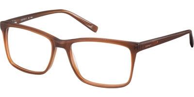 Dioptrické brýle Esprit model 17525, barva obruby hnědá mat, stranice hnědá mat, kód barevné varianty 573.
