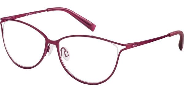 Dioptrické brýle Esprit model 17528, barva obruby růžová mat, stranice růžová mat, kód barevné varianty 515.