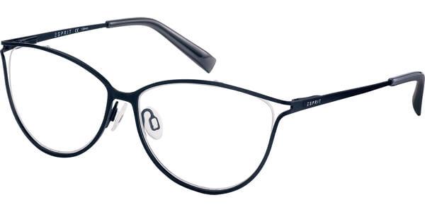 Dioptrické brýle Esprit model 17528, barva obruby černá mat, stranice černá mat, kód barevné varianty 538.