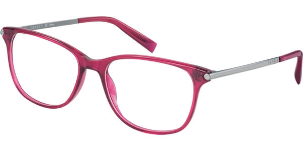 Dioptrické brýle Esprit model 17529, barva obruby růžová lesk, stranice stříbrná lesk, kód barevné varianty 515.
