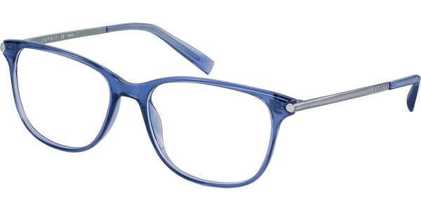 Dioptrické brýle Esprit model 17529, barva obruby modrá lesk, stranice stříbrná lesk, kód barevné varianty 543.