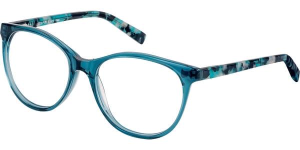 Dioptrické brýle Esprit model 17530, barva obruby zelená lesk, stranice zelená černá lesk, kód barevné varianty 508.