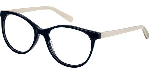Dioptrické brýle Esprit model 17530, barva obruby černá lesk, stranice béžová lesk, kód barevné varianty 538.