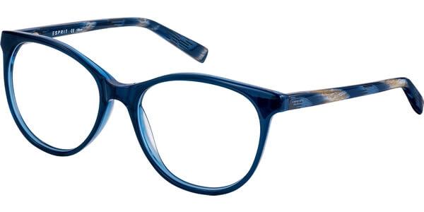 Dioptrické brýle Esprit model 17530, barva obruby modrá lesk, stranice modrá béžová lesk, kód barevné varianty 543.