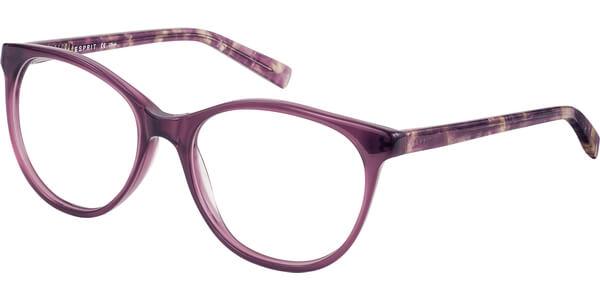 Dioptrické brýle Esprit model 17530, barva obruby fialová lesk, stranice fialová zlatá lesk, kód barevné varianty 577.