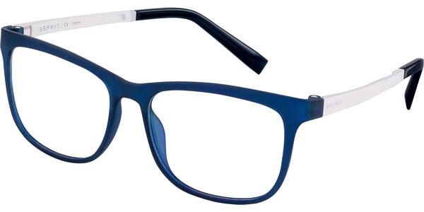 Dioptrické brýle Esprit model 17531, barva obruby modrá mat, stranice bílá mat, kód barevné varianty 508.