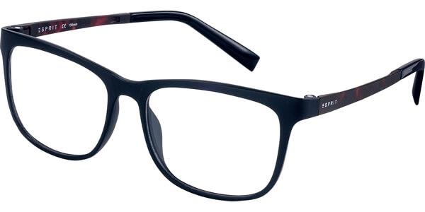 Dioptrické brýle Esprit model 17531, barva obruby černá mat, stranice černá mat, kód barevné varianty 538.
