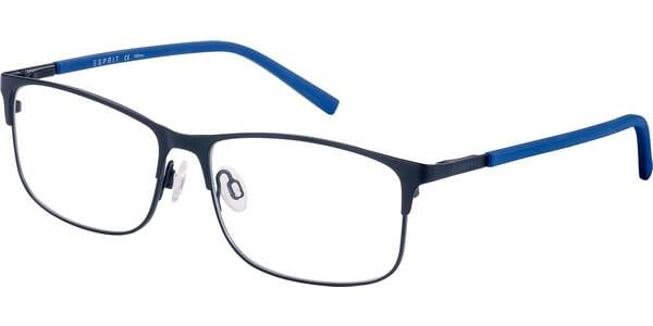 Dioptrické brýle Esprit model 17532, barva obruby černá mat, stranice modrá mat, kód barevné varianty 538.