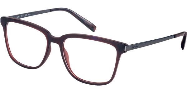 Dioptrické brýle Esprit model 17533, barva obruby hnědá mat, stranice stříbrná lesk, kód barevné varianty 535.